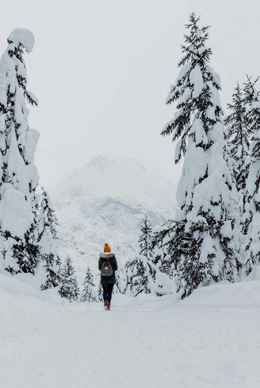 Winterwanderung durch das Falzthurntal im Naturpark Karwendel