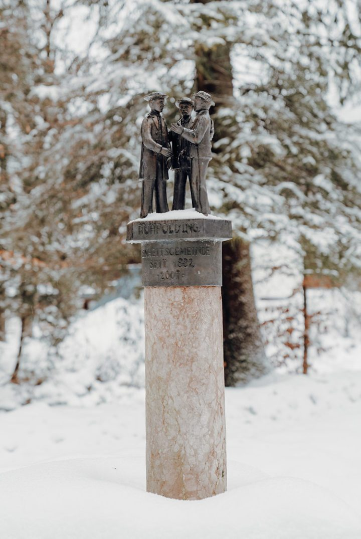 Ruhpolding – Winterwanderung entlang der Urschlauer Ache