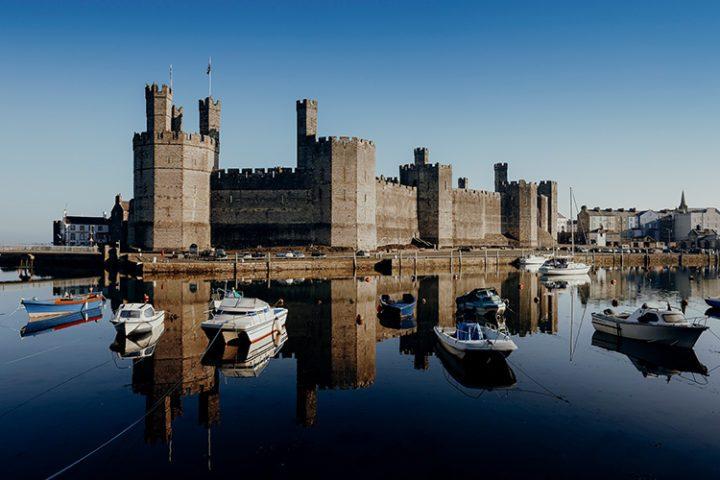 Burg Caernarfon Wales
