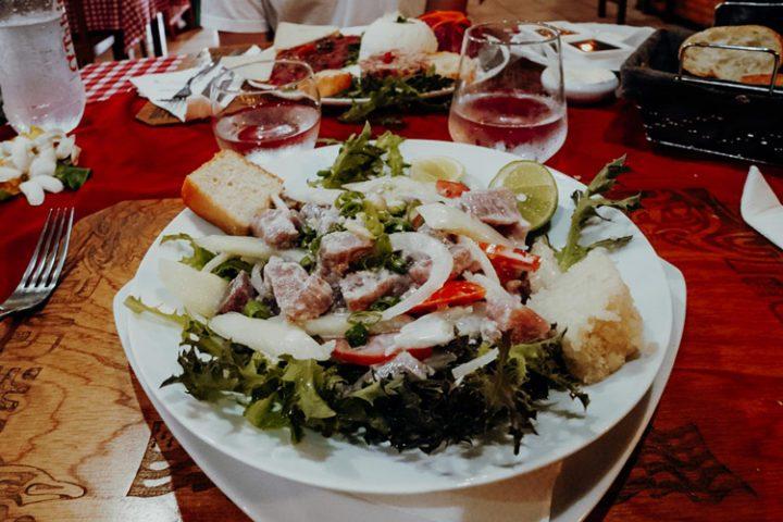 Restaurant Chez Loula et Remy in Taravao Tahiti