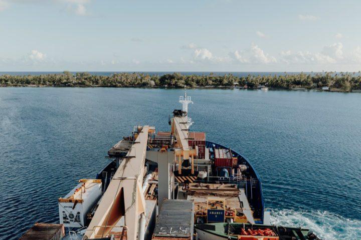 Der Tuamotu-Archipel Französisch Polynesien