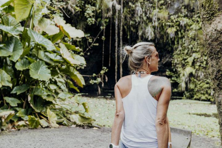 Grottes de Mara'a Tahiti Französisch Polynesien