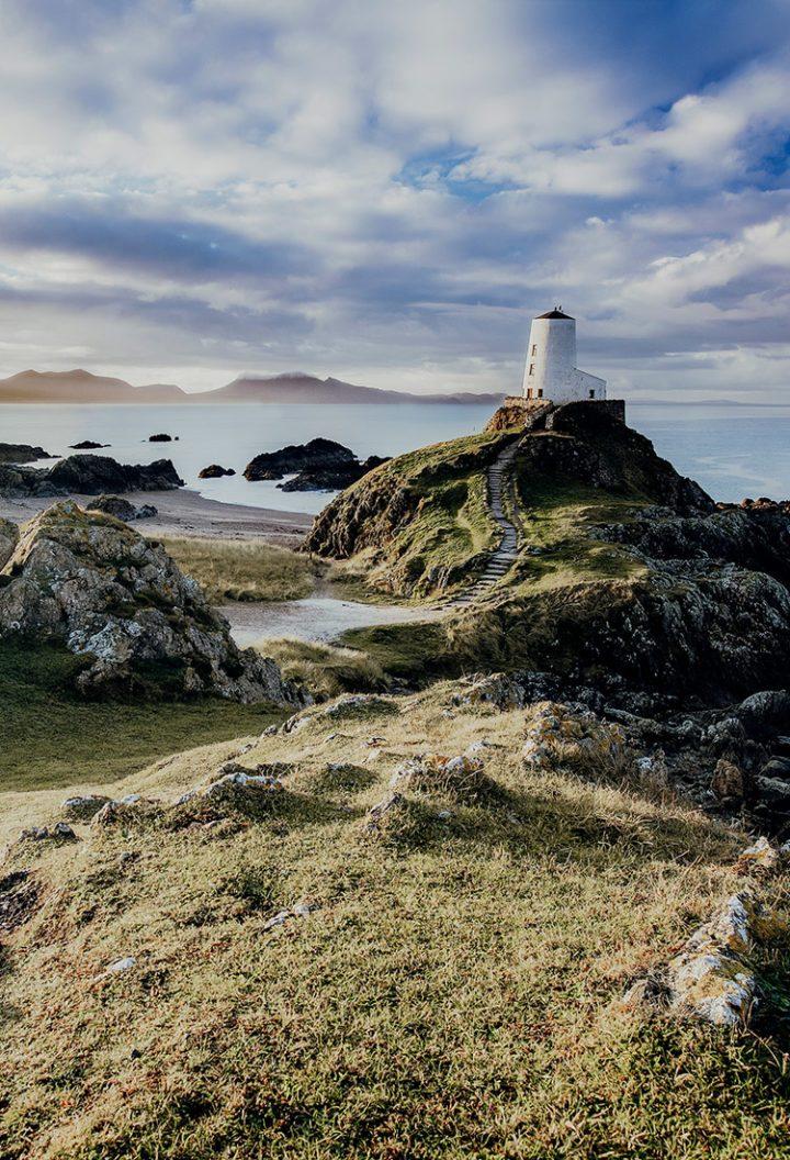 Halbinsel Llanddwyn Anglesey Wales