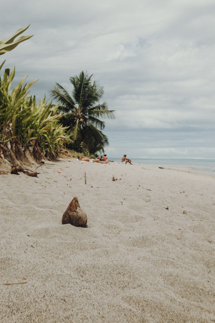 Plage Vaiava im Mahana Park – Tahiti