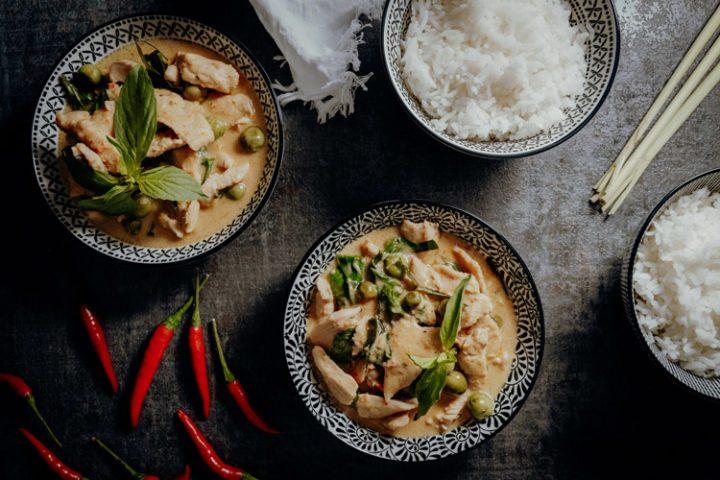 Panang Curry mit Huhn – Thai Rezept für Gaeng Panaeng