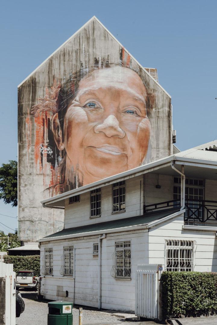Street Art in Papeete - Tahiti