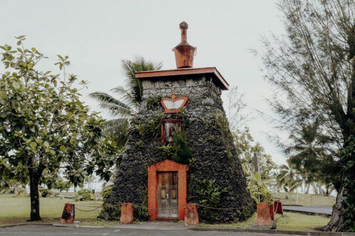 Tombeau du Roi Pomare V. Tahiti
