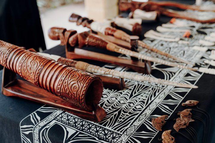 Knochenschnitzereien von Tahuata, Marquesas