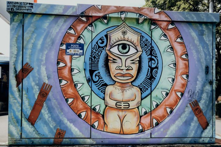 Streetart Papeete Tahiti