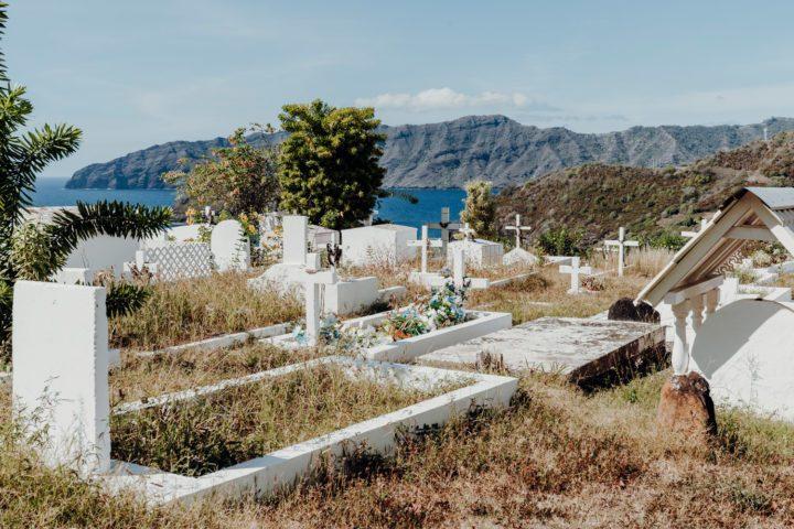 Friedhof Cimetière Calvaire in Atuona