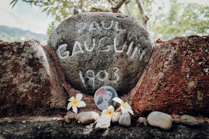 Grab von Paul Gauguin in Atuona