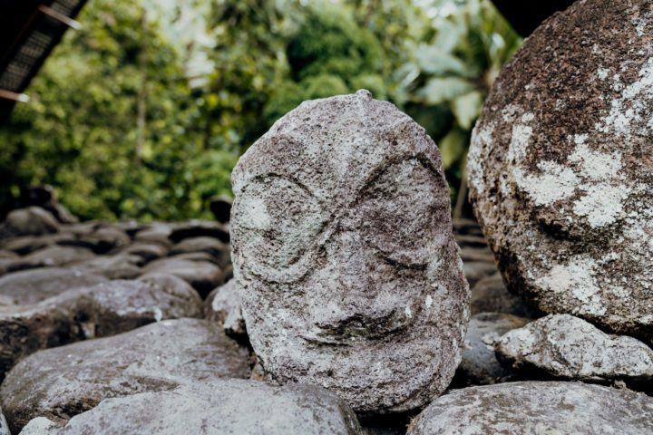 Die Kultstätte Te Ipona Hiva Oa
