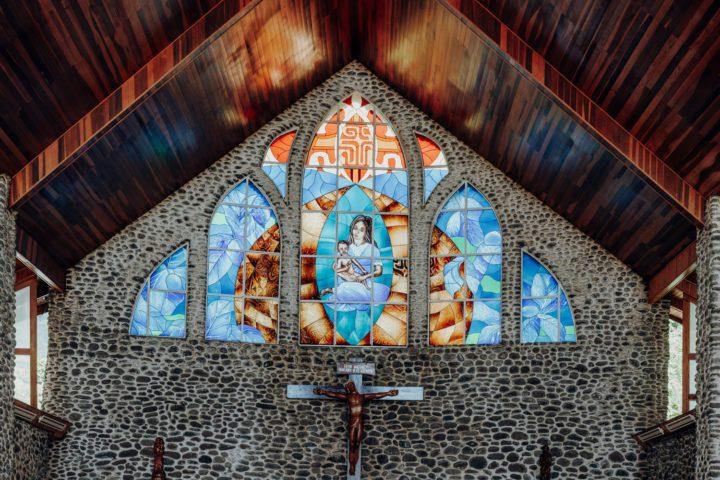 Kirche TahuKirche Tahuata Marquesasata Marquesas