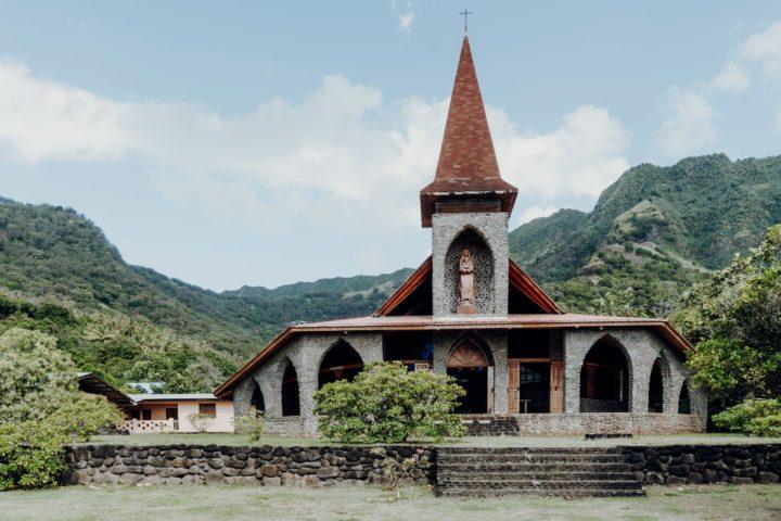 Kirche Tahuata Marquesas