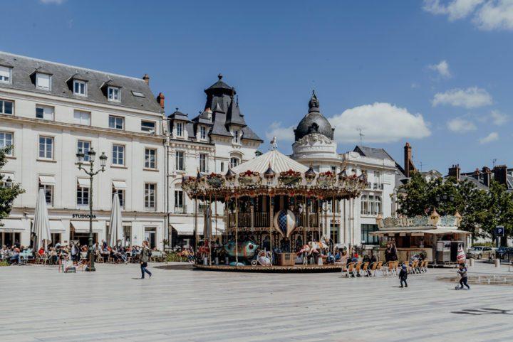 Der Place du Martroi