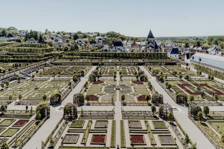 Das Schloss Villandry