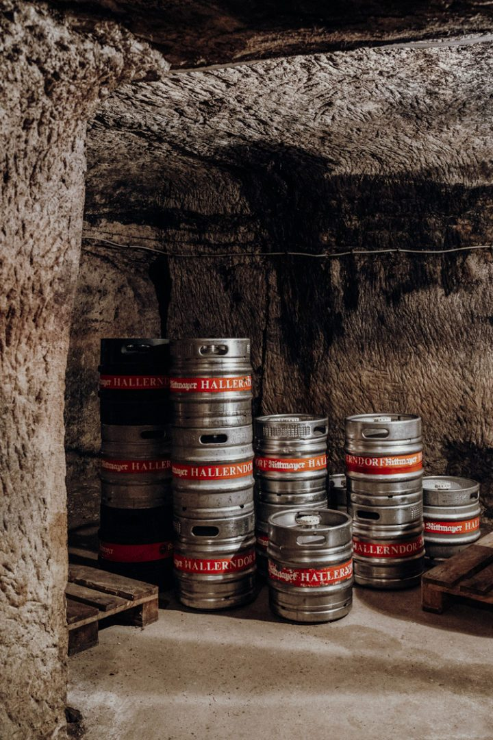 Eine Bierkellerführung im Kellerwald Forchheim