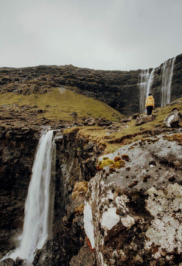 Wandern auf den Färöer Inseln –  Wanderung zum Fossá, dem höchsten Wasserfall der Färöer
