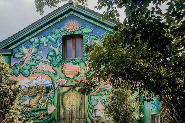 Verlasse die EU und reise in die Freistadt Christiania