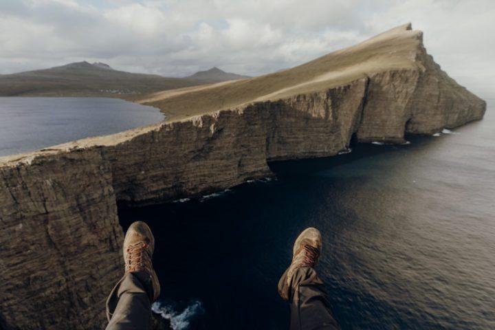 Wandern auf den Färöer Inseln – Wanderung um den größten Binnensee Leitisvatn
