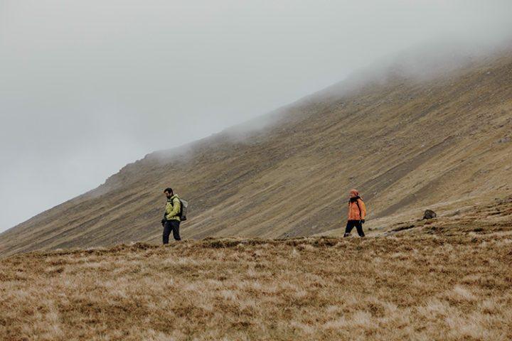 Wandern auf den Färöer Inseln – Bergwanderung auf den Slættaratindur