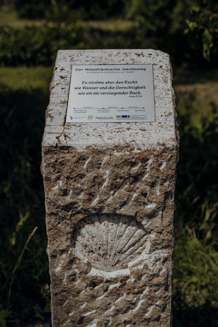 Wanderwege im Nürnberger Land – Tipp 7: Wandern auf dem mittelfränkischen Jakobsweg