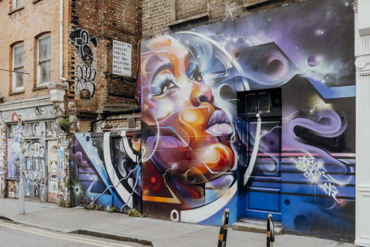 Streetart in Shoreditch London