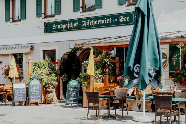 Das Restaurant Fischerwirt in Achenkirch