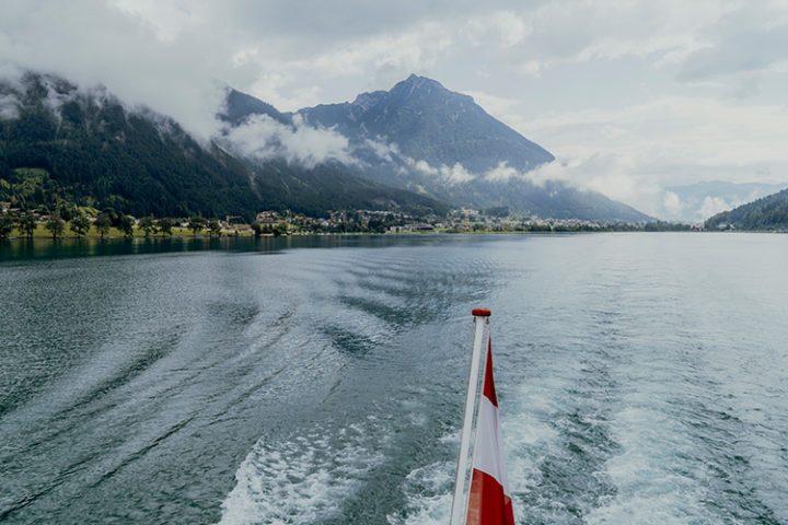 Mit dem Schiff unterwegs auf dem Achensee