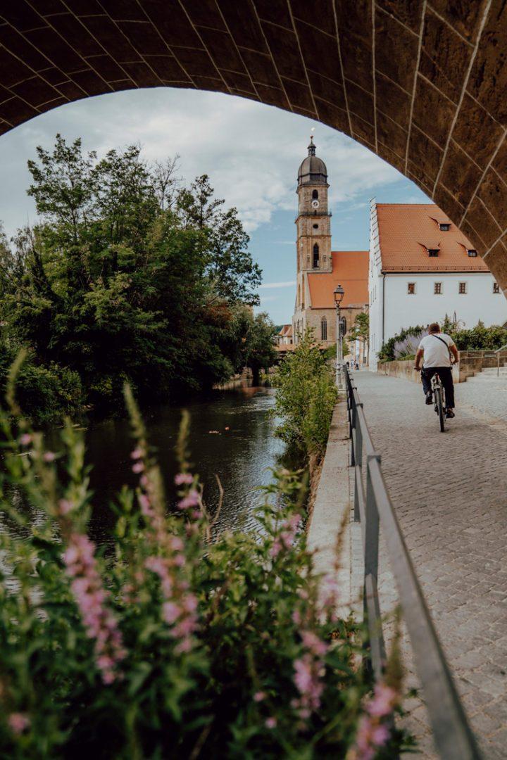 Fünf-Flüsse-Radweg von Nürnberg nach Amberg