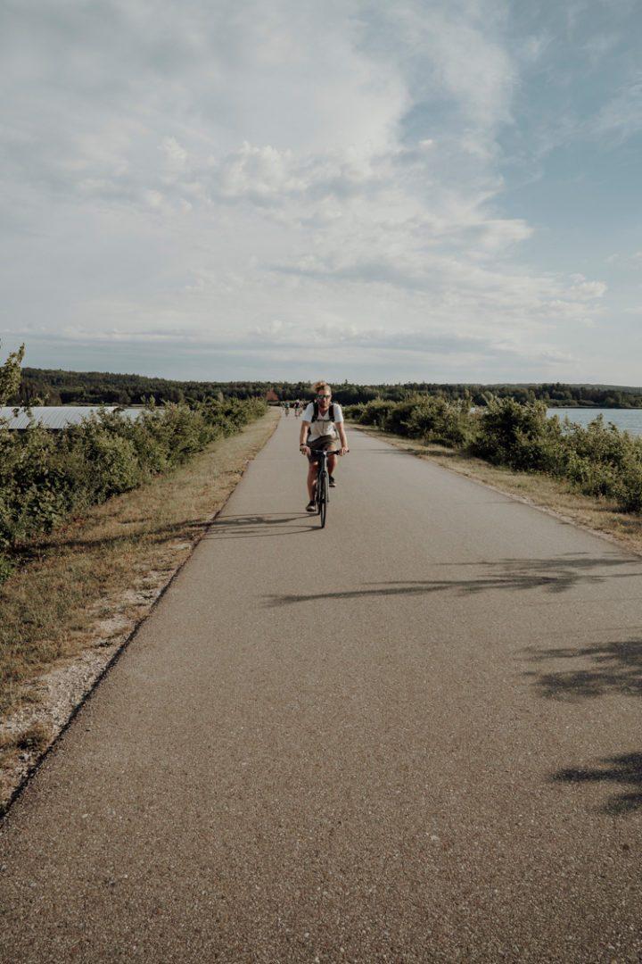 Das Fränkische Seenland mit dem Fahrrad erkunden