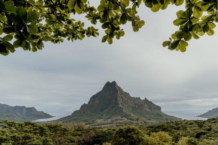 Belvedere Lookout Moorea Französisch Polynesien