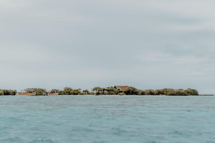 Coco Beach Moorea Französisch Polynesien