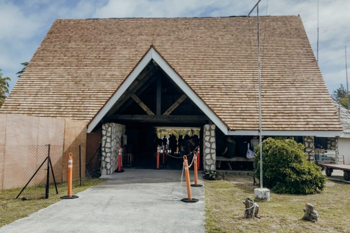 Flughafen Tikehau Tuamotu Inseln