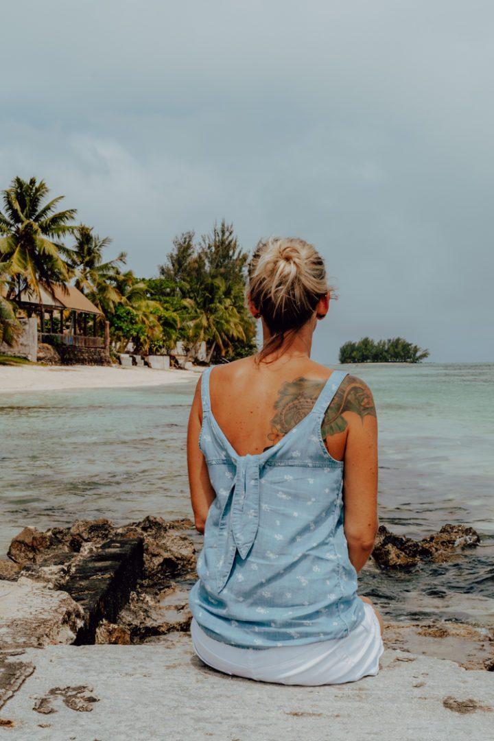 Eine Inselrundfahrt auf Moorea Französisch Polynesien