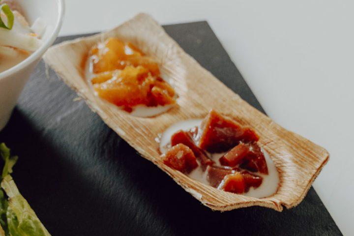 Polynesische Spezialitäten: Po'e - polynesischer Fruchtpudding