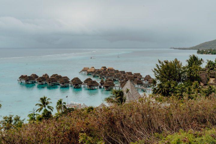Toatea Lookout Moorea Französisch Polynesien