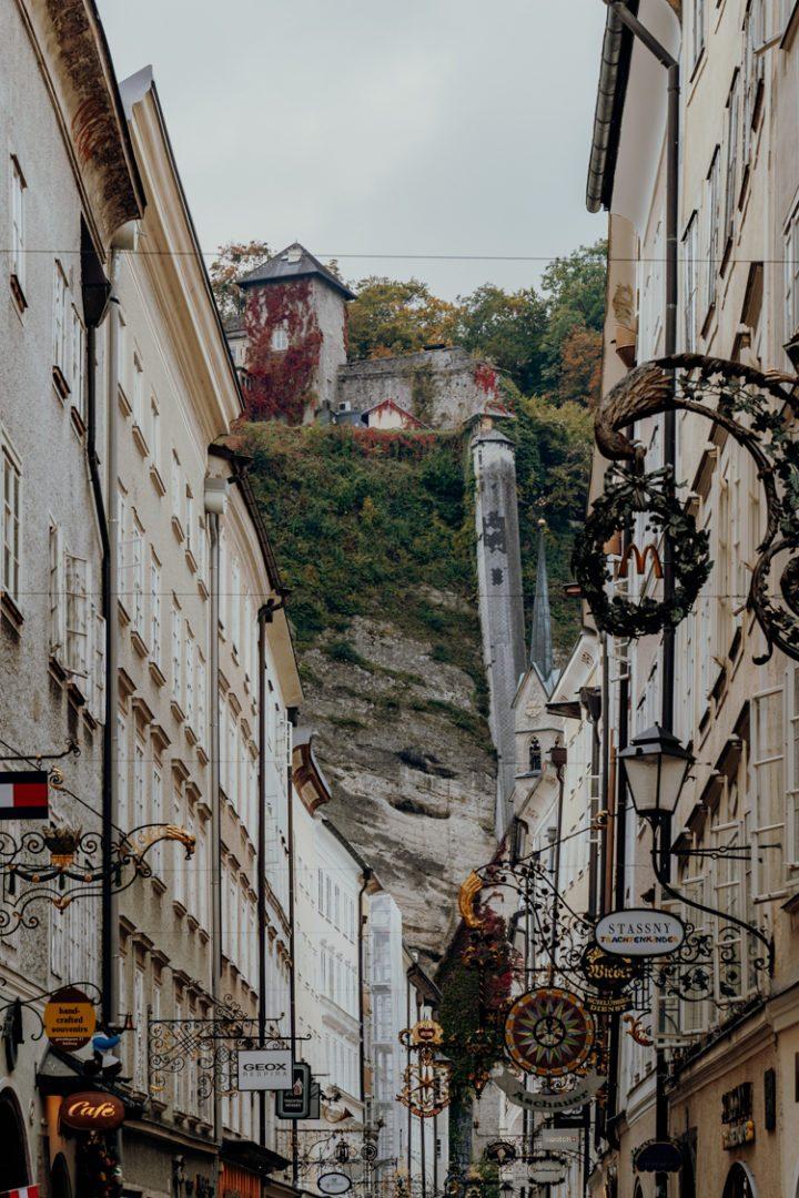 Die Getreidegasse Salzburg