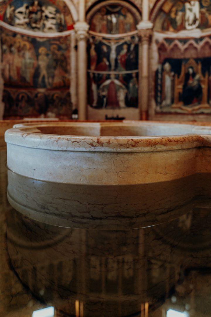 Das Baptisterium San Giovanni Parma