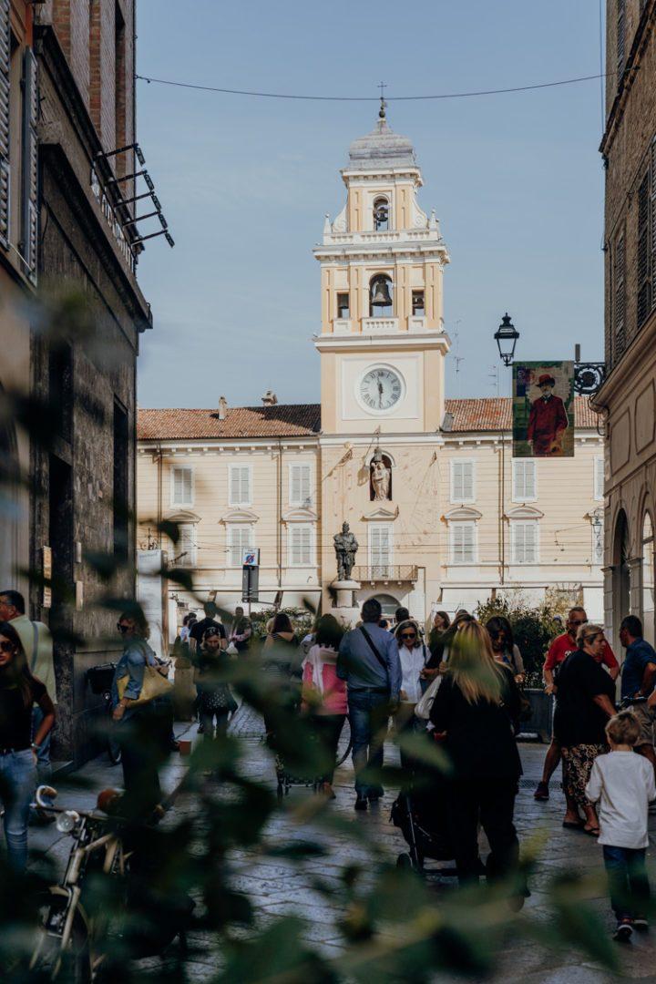 Die Piazza Garibaldi Parma