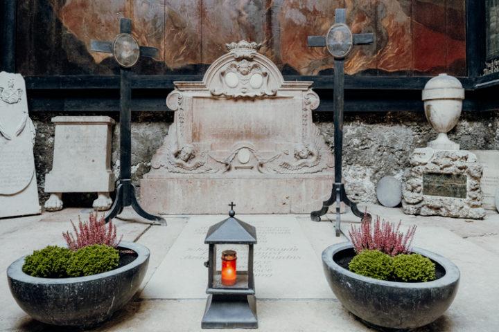 Der Petersfriedhof Salzburg