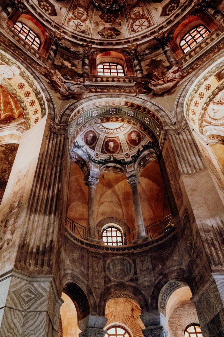 Kirche San Vitale Ravenna Italien