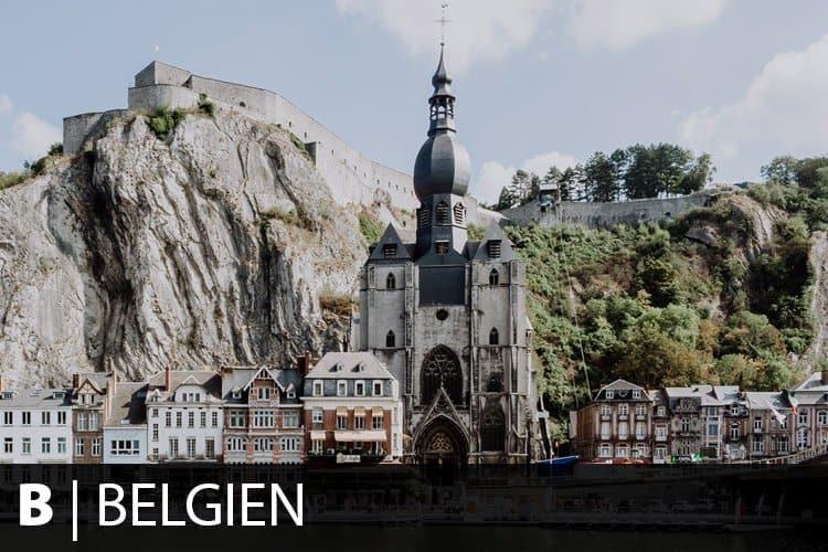 Reiseziel Belgien