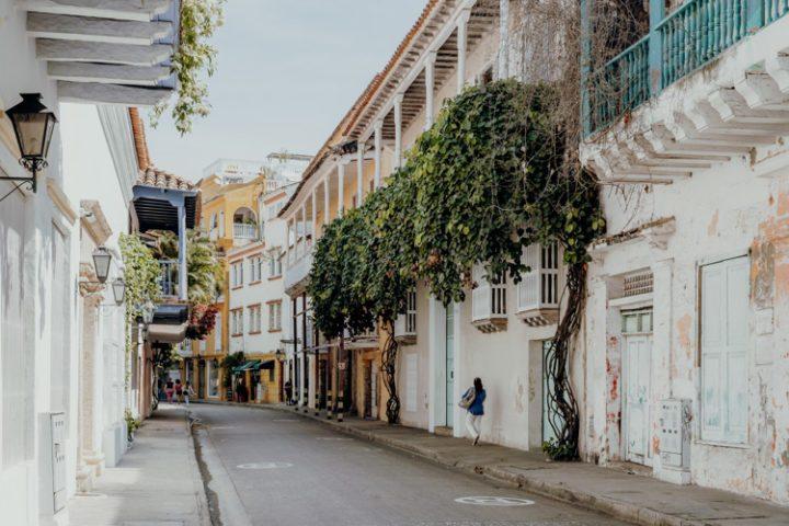 Die Altstadt von Cartagena de Indias