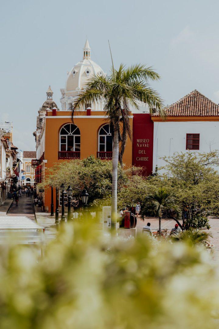 Die Altstadt von Cartagena de Indiias