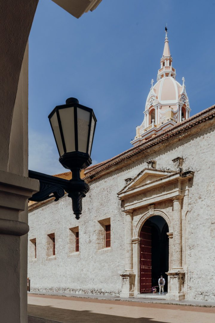 Die Catedral de Santa Catalina de Alejandría in Cartagena