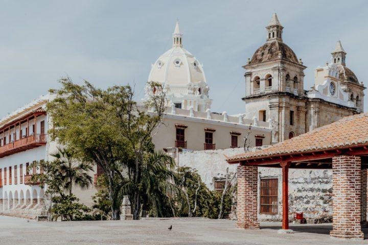 Die Iglesia de San Pedro Claver in Cartagena