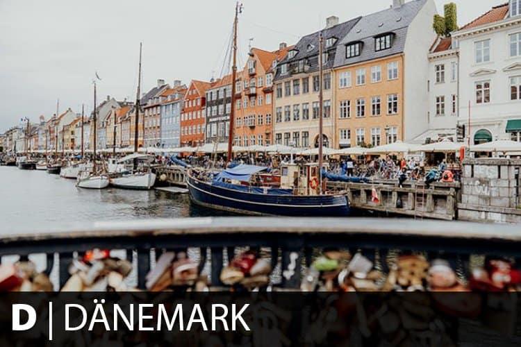 Reiseziel Dänemark