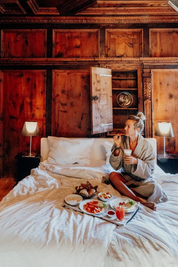 So schön beginnt der Tag im Weissen Kreuz Burgeis Vinschgau – Das Frühstück