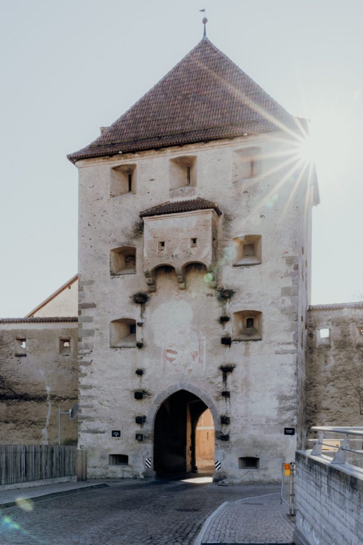 Das mittelalterliche Städtchen Glurns Vinschgau Südtirol